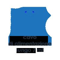 Caratteristiche Vapour M1. Scopa a Vapore